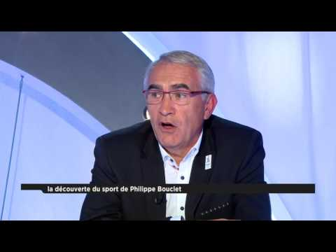 Patrick Chêne reçoit Philippe Bouclet, président de la Fédération Française de Tir à l'Arc