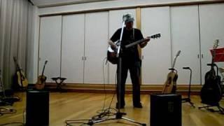 2009.5.10 くすの木ハウス ならば、友よ 野狐禅 ヤイリギターですw.