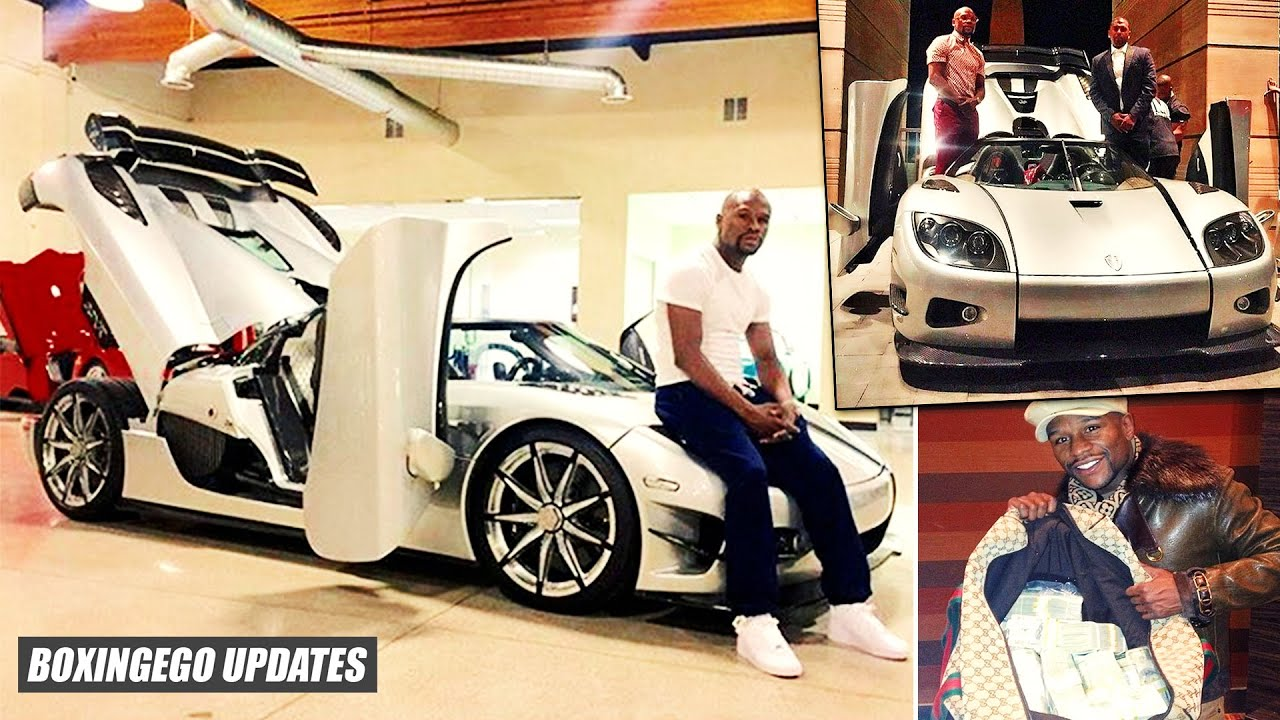 Holy Sh T Floyd Mayweather Balls Out Spends 4 8m On