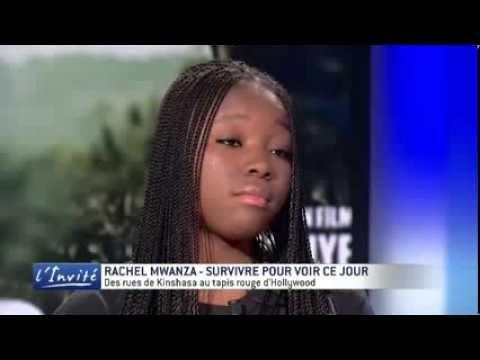 """Rachel MWANZA : """"Des trottoirs de Kinshasa à Hollywood"""""""