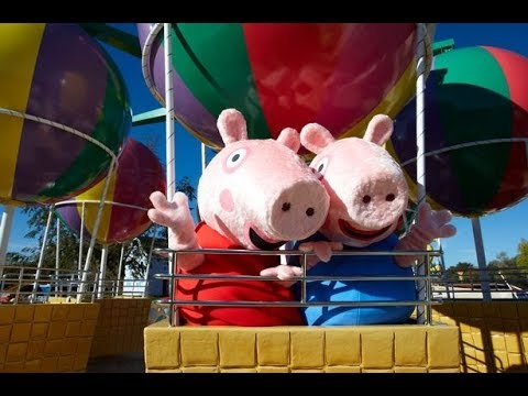 Peppa Pig World Paultons Park Uk Review Rides And Tour