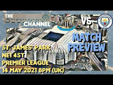 Newcastle United vs. Manchester City - Football Match Report - May ...