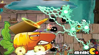 Plants Vs Zombies 2: New Plants Carrot Launcher Lighting Reed New Costume New Power
