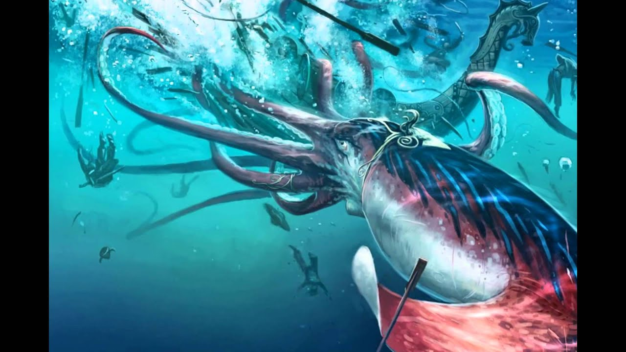 The Kraken And Other Sea Monsters