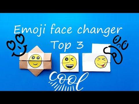 Emoji Face Changer Top 3 - Emoji Diy Paper Magic Cards / Emoji Değişen Yüzler