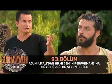 Survivor 2018 | 93. Bölüm | Acun Ilıcalı'dan Hilmi Cem'in Performansına Büyük Övgü: Bu Sezon Bir İlk