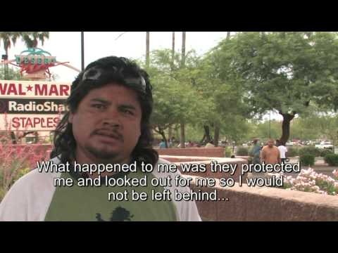 Interview with an illegal day laborer