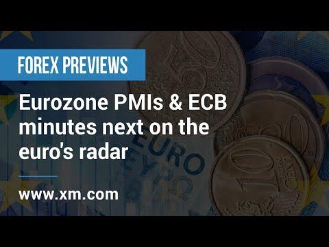 Forex Previews: 20/02/2019 - Eurozone PMIs & ECB minutes next on the euro's radar