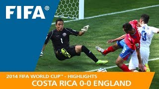 COSTA RICA v ENGLAND (0:0) - 2014 FIFA World Cup™