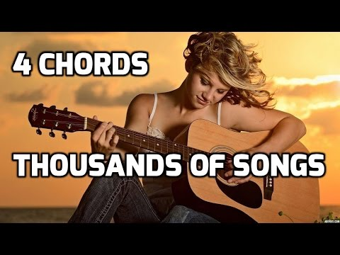 Piano riptard 4 chords piano : Guitar lessons for Beginnes | Learn 4 Chords and Play Thousands of ...