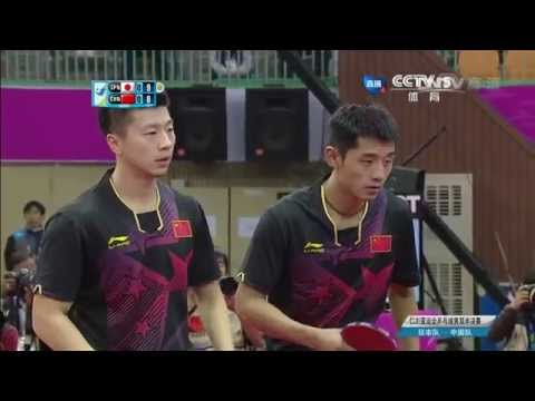 2014 Asian Games MD-SF2: Ma Long/Zhang Jike - Niwa Koki/Matsudaira Kenta [HD] [Full Match/Chinese]