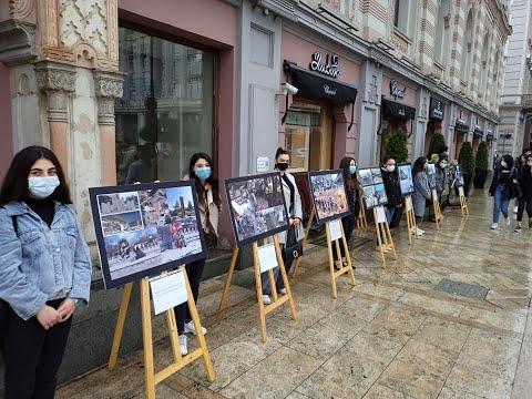 В Тбилиси прошла выставка картин «Геноцид против армян».Новости  Апр16,2021