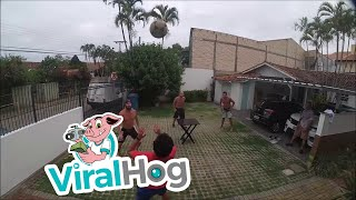 South American Table Soccer || ViralHog