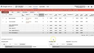 Adwords - Adding Negative Keywords - Video 3
