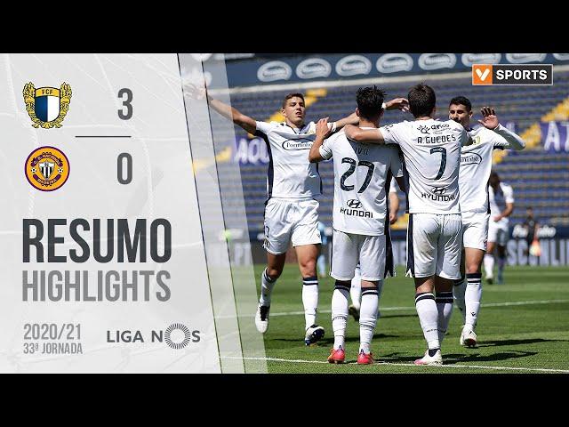 Highlights | Resumo: Famalicão 3-0 CD Nacional (Liga 20/21 #33)
