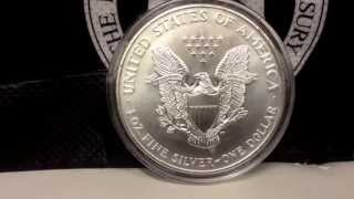 SSBS Warbird Round vs The American Silver Eagle Coin