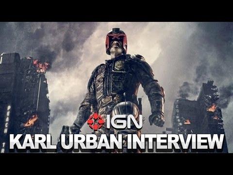 Judge Dredd - Karl Urban Interview