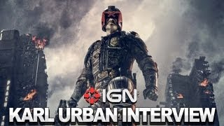Judge Dredd - Karl Urban Interview