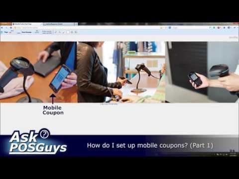 Ask POSGuys – How do I setup mobile coupons? (part 1)