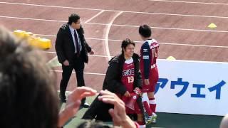 2012.3.25 ファジアーノ岡山 vs モンテディオ山形 13:00キックオフ @カ...