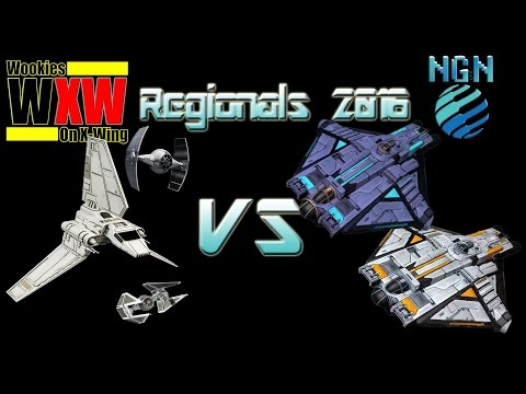 Star Wars X-Wing Miniatures | Maritime Regionals - Game 9: Palpatine Aces vs Double Ghost