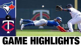 Blue Jays vs. Twins Game Highlights (9/26/21) | MLB Highlights