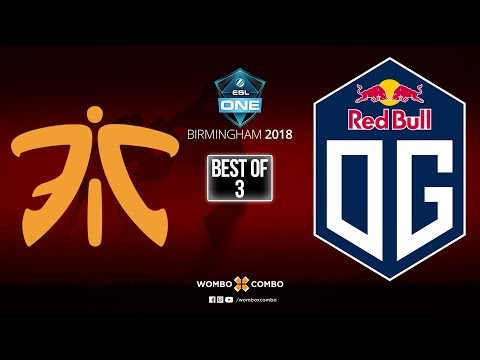 Fnatic vs OG Game 2 (Bo3) | ESL One Birmingham 2018 | Playoffs