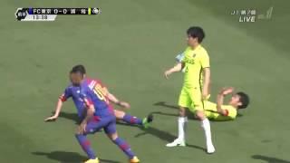 【前半ハイライト】 FC東京 0×1 浦和レッズ 2014年4月16日