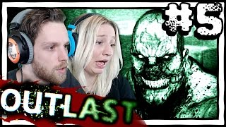 OUTLAST YuB & MeG [5] Horror Gameplay with my Girlfriend