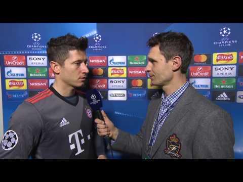 Robert Lewandowski po meczu Arsenal - Bayern    Wywiad    Liga Mistrzów