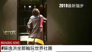 2019最新猫步 皮衣工廠旅行團員自創走秀#蘇逸洪坐郵輪玩世界社團