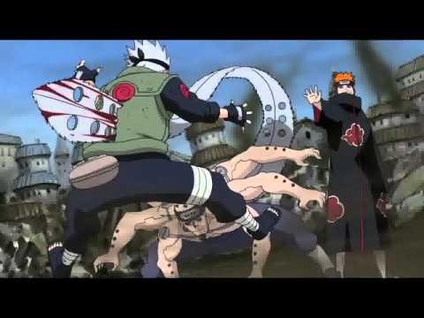 Kakashi vs Pain - Time of Dying