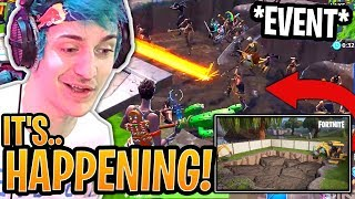 Ninja INVITES 99 Stream Snipers to *ACTIVATE* the New Dig Site Event! - Fortnite Moments