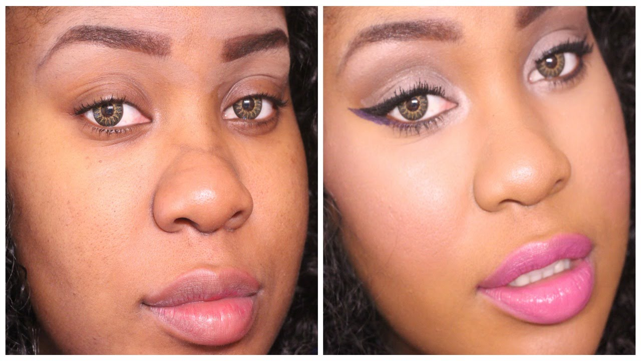 everyday drugstore summer makeup routine 2015 glowing
