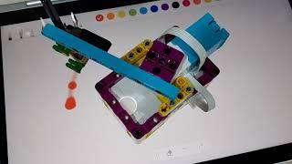 시계판을 위한 정십이각형 작도, 에어브러시 사용, 레고…