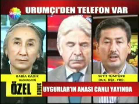 Rabiye Qadir Türkiye ShowTV da