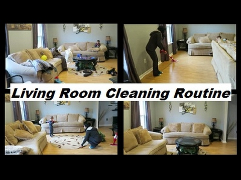 Motivational cleaning living room routine with a toddler for Living room routine