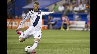 HIGHLIGHTS: David Beckham's top five best free kick goals for the LA Galaxy | #BeckhamStatue