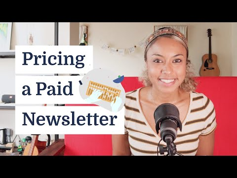 How to price a paid email newsletter