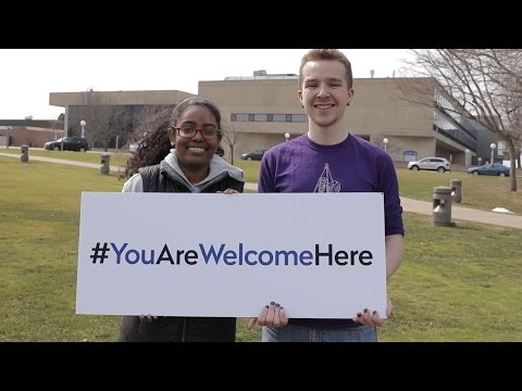 #YouAreWelcomeHere at Fredonia
