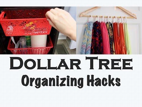 SPACE-SAVING DIYS | Dollar Tree Organizing