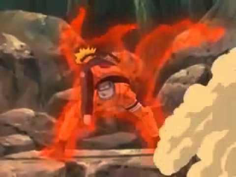 Naruto Goes 1-9  nine tails