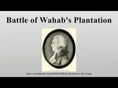 Battle of Wahab's Plantation