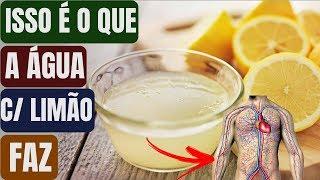 Não Tome Agua com Limão Antes de ver esse Vídeo