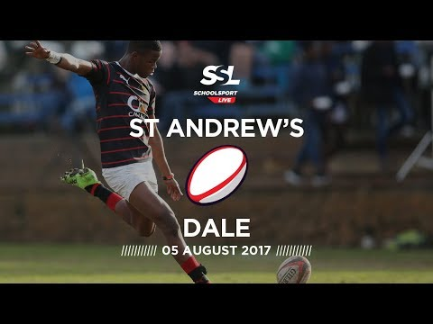 St Andrew's College 1st XV vs Dale College 1st XV, 5 August 2017