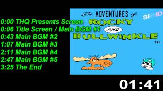 The Adventures of Rocky and Bullwinkle [NES] Music / Soundtrack