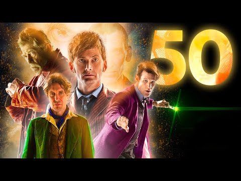 Celebrating The Day of the Doctor! 57 Years of Doctor Who