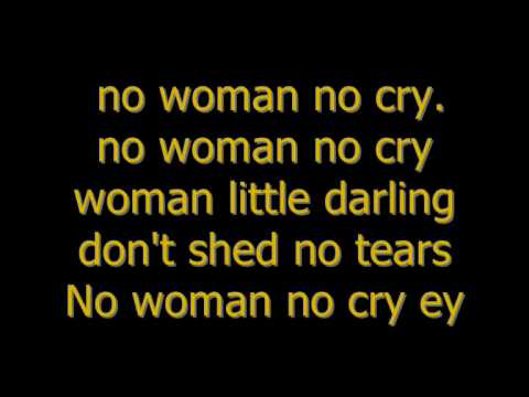画像: Bob Marley - no woman no cry (Lyrics) www.youtube.com