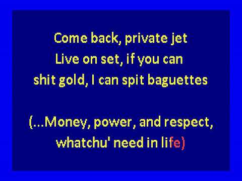 Lox ft.  Lil' Kim & DMX   - Money, Power & Respect (karaoke)