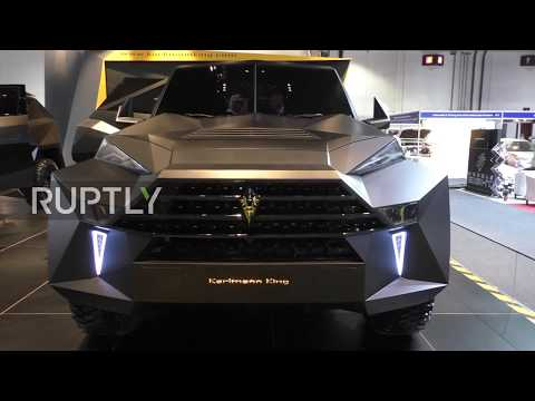 UAE: 'Karlmann King' - Luxury brute conquers Dubai Motor Show